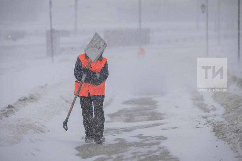 ВТатарстане предполагается метель исильный ветер— МЧС предупреждает
