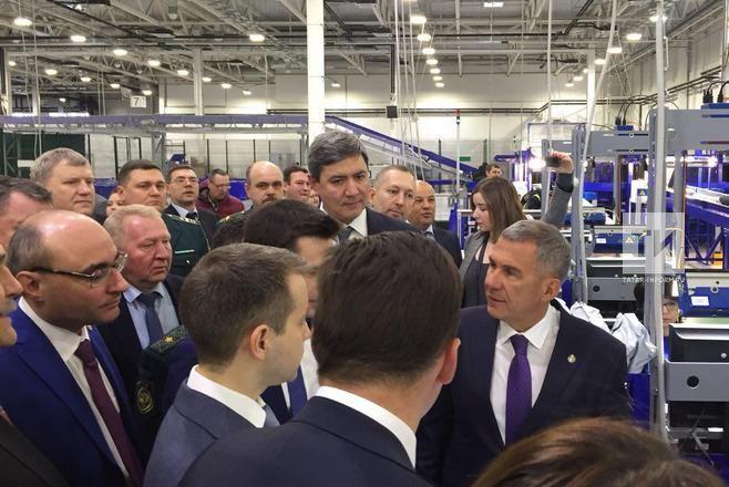 «Почта России» запустила Логистический почтовый центр вКазани