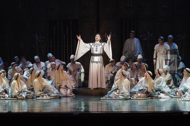 Наоткрытии Шаляпинского фестиваля прозвучала опера Верди «Набукко»