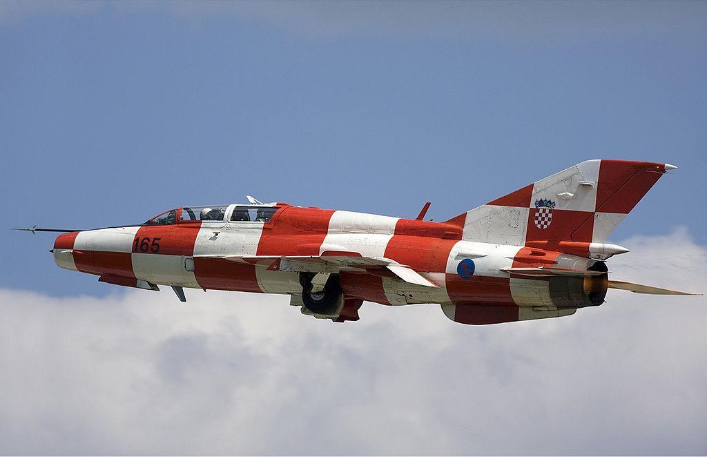 Хорватия потребовала отУкраины новые истребители МиГ-21 взамен «фальшивых»