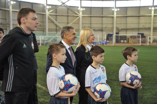 ВКазани запустили проект «1000 молодых футболистов»