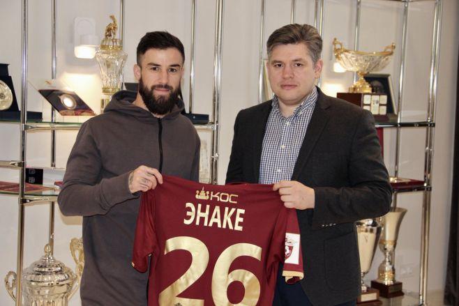 ФК «Рубин» объявил опереходе румынского защитника Габриэля Энаке