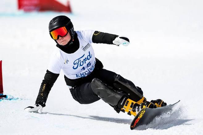 Сноубордистка Быкова одолела впараллельном гигантском слаломе наэтапеКМ