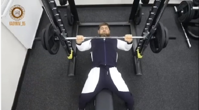 Рамзан Кадыров принял участие воВсероссийской эстафете «Выбор Чемпионов»