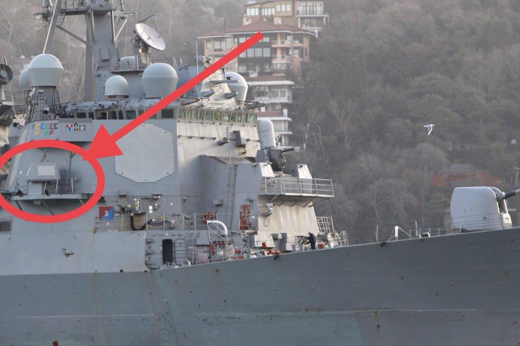 ВМС США испытали новейшую боевую электронику вЧерном море