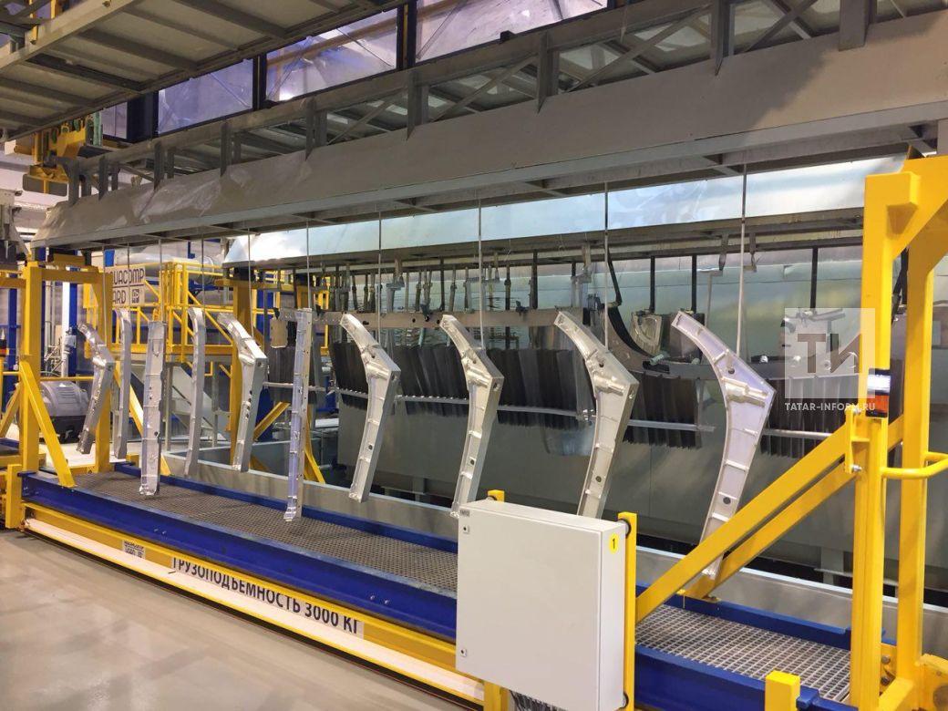 НаКазанском вертолетном заводе открыт новый цех гальванического производства