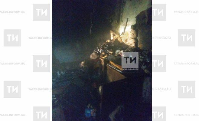 Два человека погибли и один в реанимации после пожара в казанской пятиэтажке