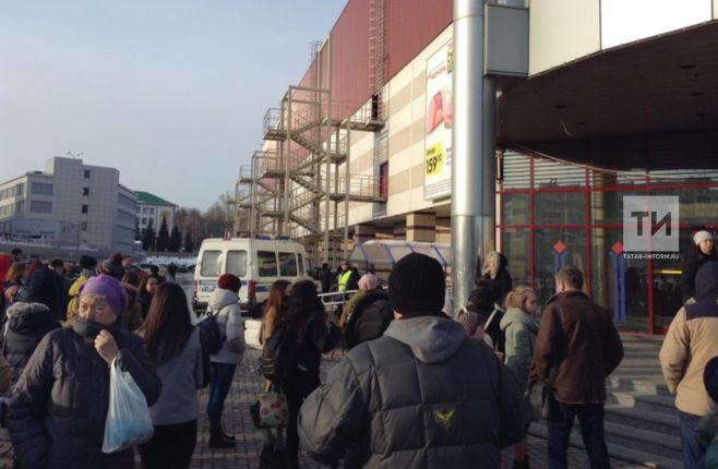 В коммерческом центре «Тандем» объявлена эвакуация