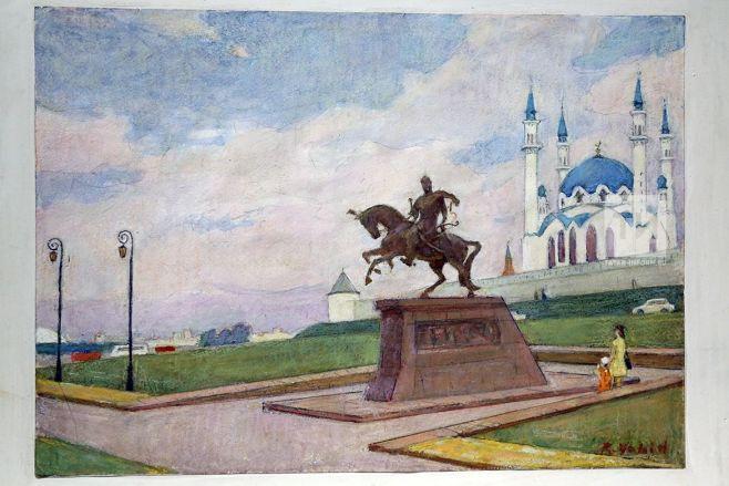 Художник Рифкат Вахитов предложил установить памятник Улу-Мухаммед хану у стен Казанского Кремля
