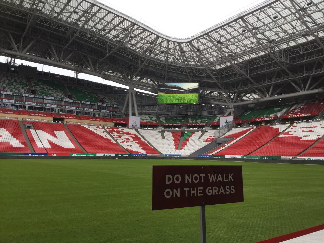 «Казань Арена» на95 процентов готова кЧМ— МинспортаРТ