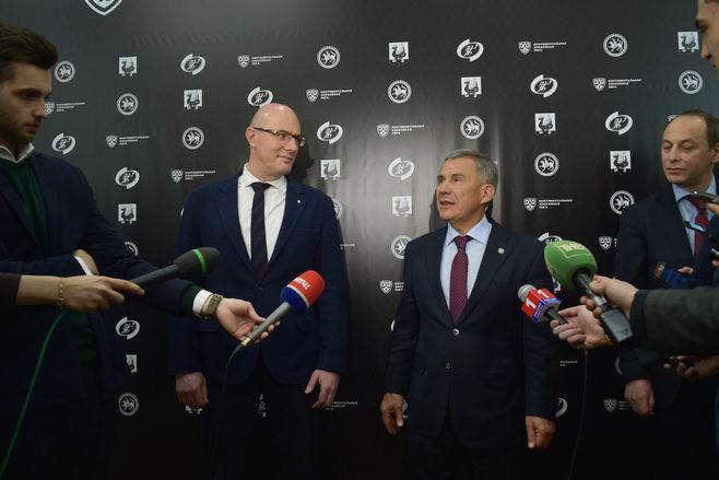 Дмитрий Чернышенко: «Казань была самым необычайным кандидатом напроведение Недели звезд хоккея»