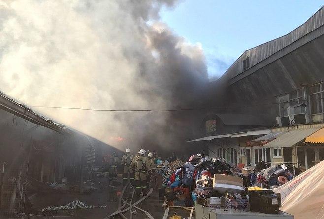 ВНальчике назвали предварительную причину пожара нарынке