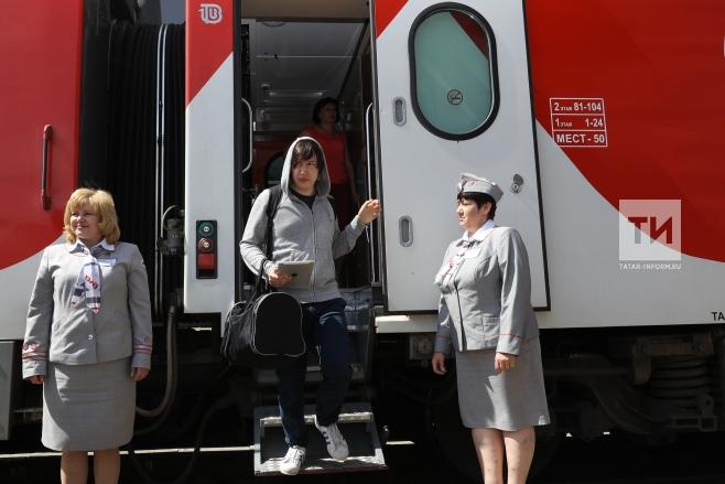 Персонал поезда «Ласточка» изНижнего Новгорода в столицуРФ признан лучшим вгосударстве