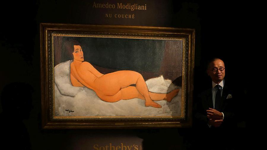 Картину Модильяни выставили нааукционе зарекордную цену