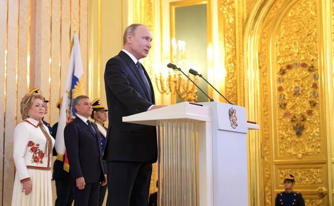Путин назвал основные задачи напосту президента