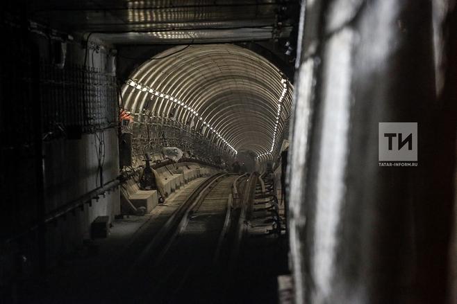 Настанции метро «Дубравная» в пробном режиме запустили поезда