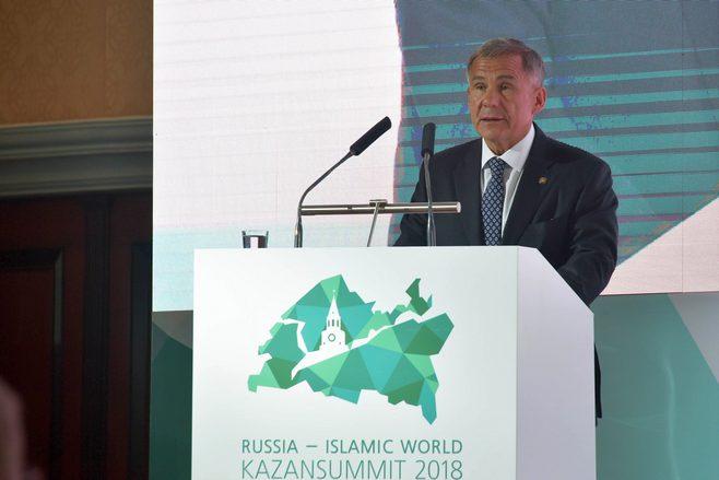 Президент РФ Владимир Путин приветствовал участников KazanSummit