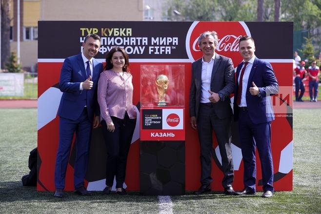 В Казани открылся финальный этап футбольного турнира «Кожаный мяч-2018»