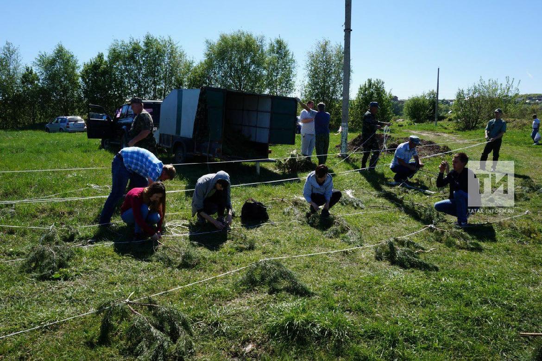 В Татарстане завершен комплекс мероприятий по установке искусственных нерестилищ
