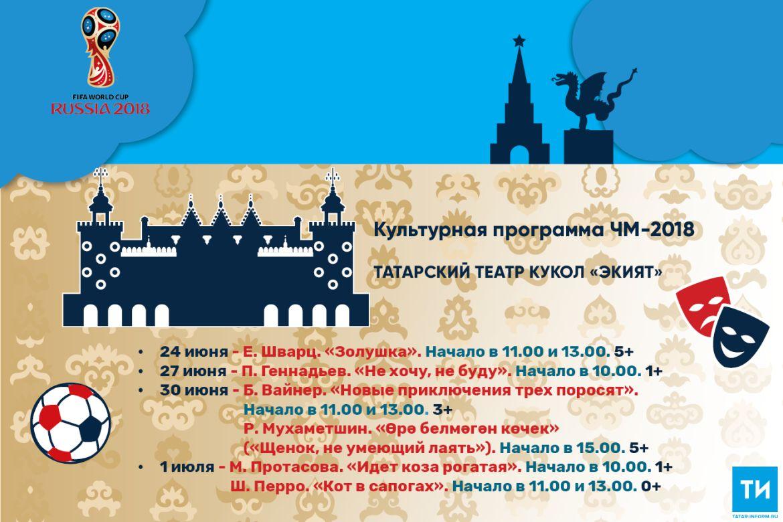 Культурная программа ЧМ-2018: Татарский театр кукол «Экият»