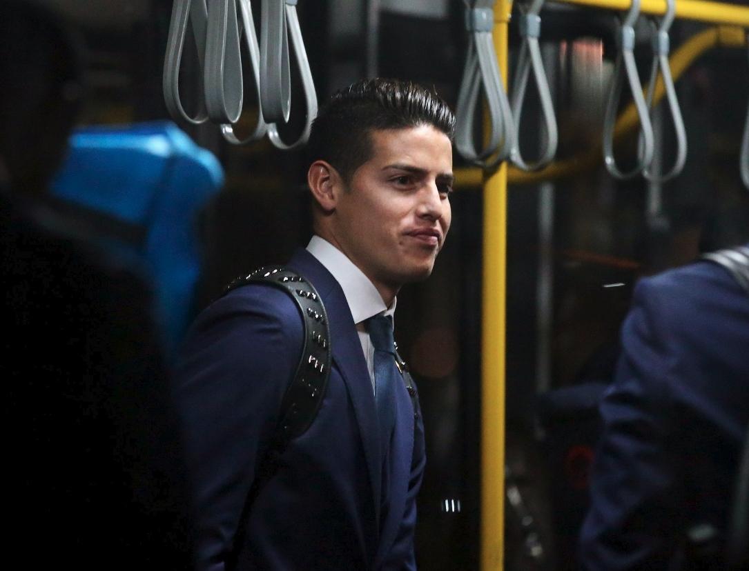 Сборная Колумбии по футболу прилетела в Казань