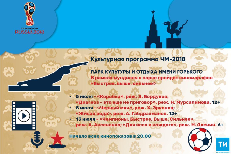 Культурная программа ЧМ-2018: Парк культуры и отдыха имени Горького