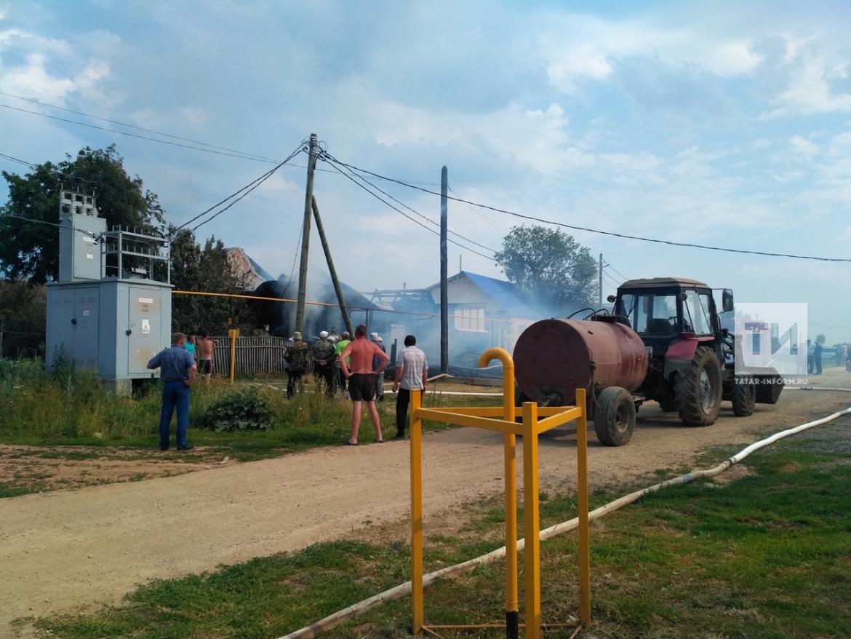 Татарстанец заживо сгорел из-за непотушенной сигареты