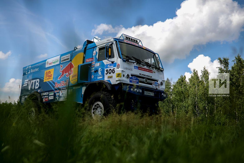 Экипаж Каргинова одержал победу 4-й этап «Шелкового пути»
