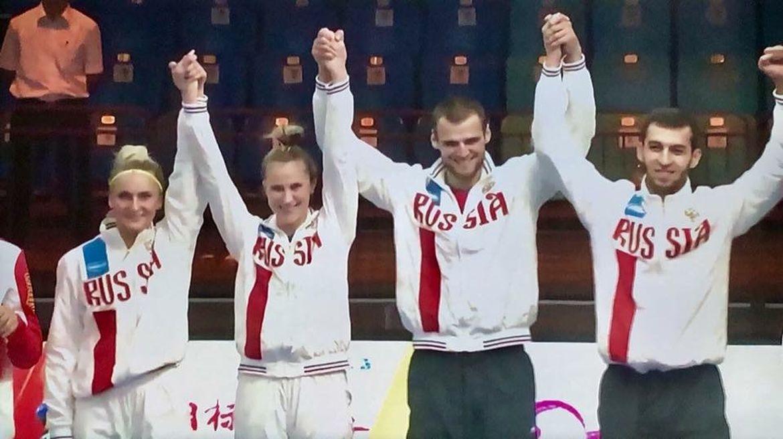 Сборная Российской Федерации выиграла командный чемпионат мира потхэквондо вмиксте