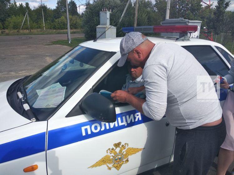 Во время рейда в Казани инспекторы ДПС обнаружили 13 неисправных междугородних автобусов