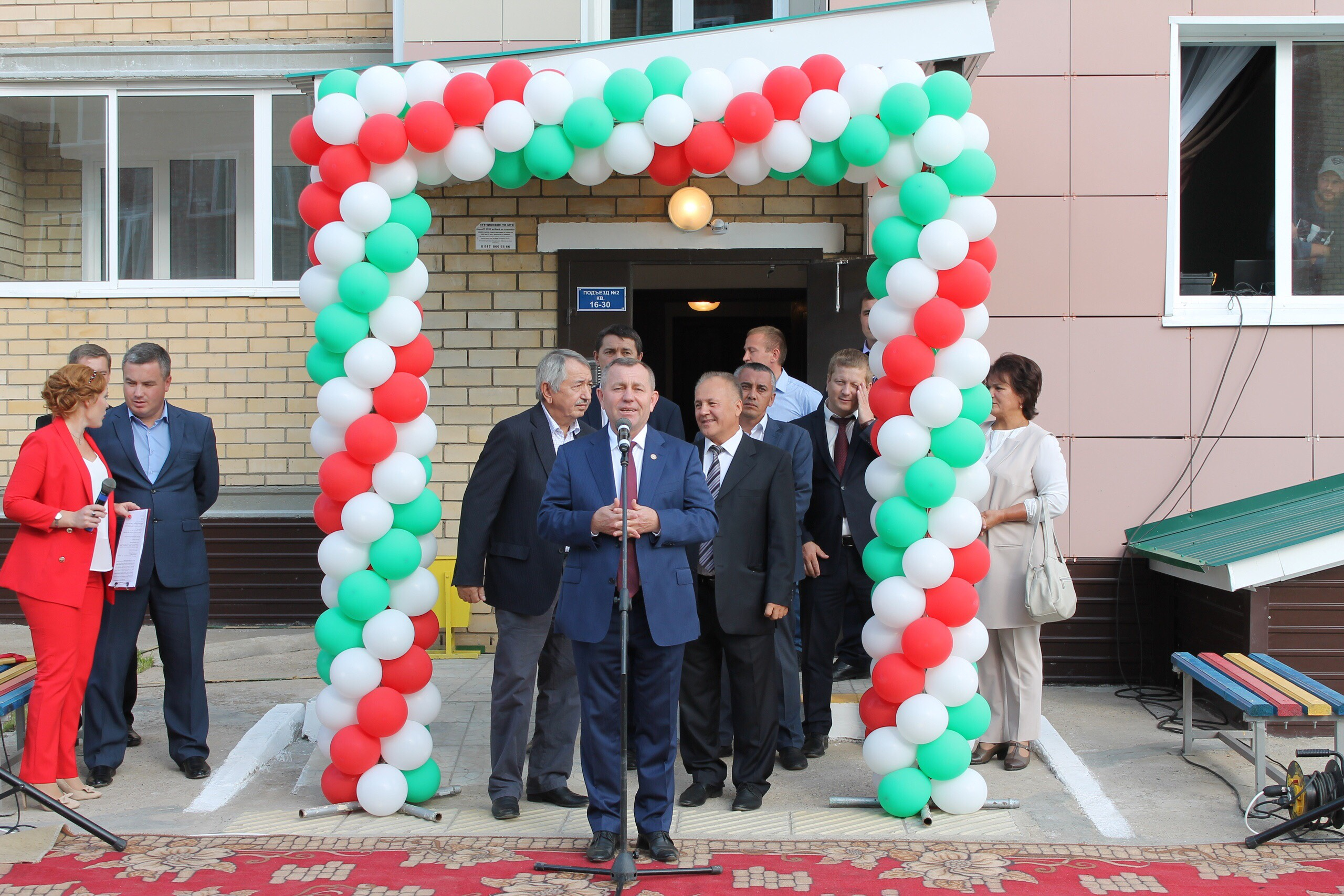 В Мамадышском районе заселили 30-квартирный арендный дом