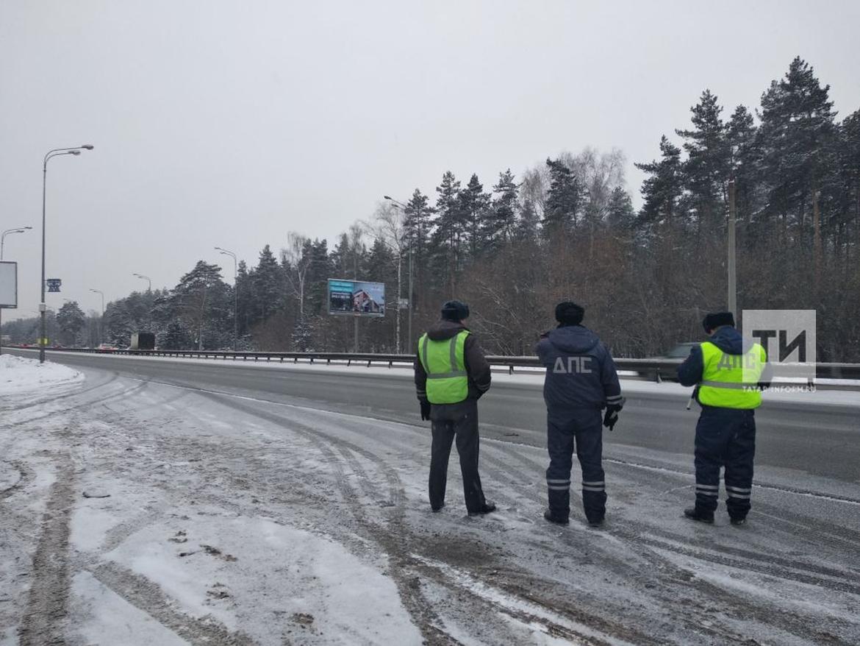 Во время рейда на водителей автобусов сотрудники ГИБДД Казани поймали семь нарушителей