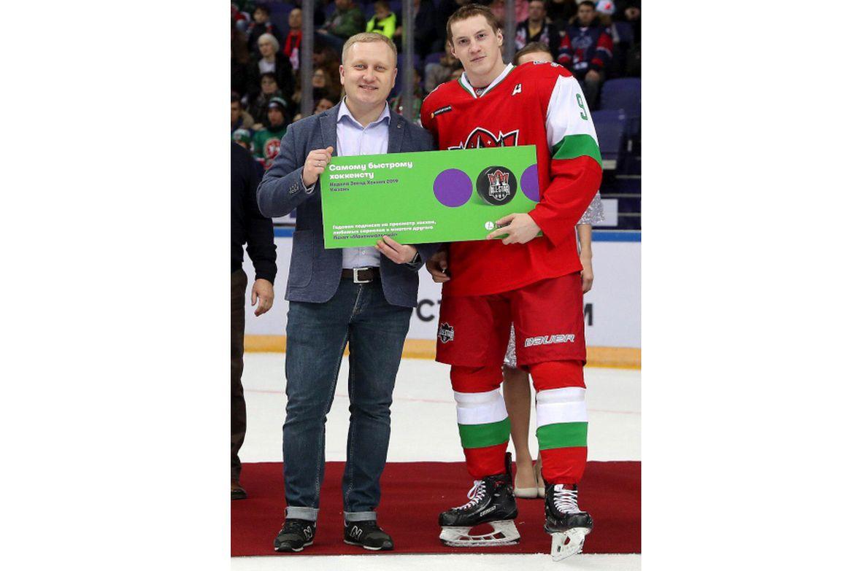 Самым быстрым игроком Недели звезд КХЛ стал Дмитрий Кагарлицкий