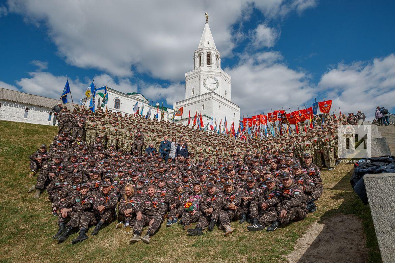 В Казани стартовал сбор «Союз-2019 – Наследники Победы»
