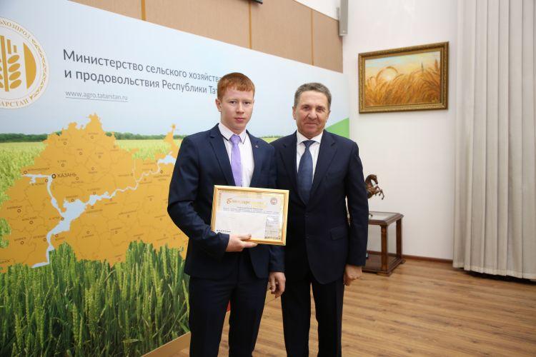 Студент из Татарстана стал победителем WorldSkills Russia в компетенции «Эксплуатация сельхозмашин»