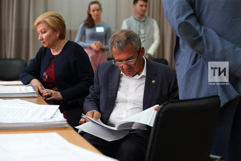Рустам Минниханов стал участником предварительного голосования «Единой России»