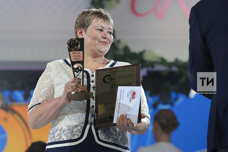 Медработником года по версии «Ак чэчэклэр – 2019» стала заведующая ФАПом Новошешминского района РТ