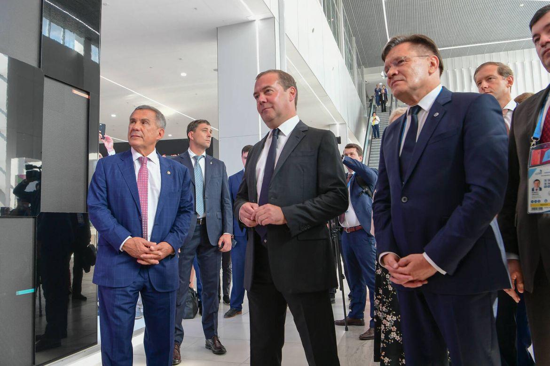 Сегодня Медведев приедет наоткрытие WorldSkills вКазань