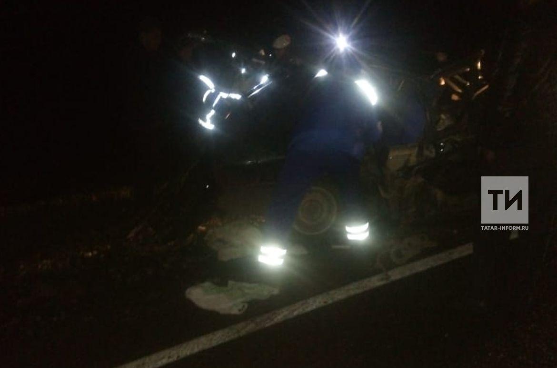 Ночью произошло смертельное ДТП на трассе Чистополь-Альметьевск +[ФОТО]