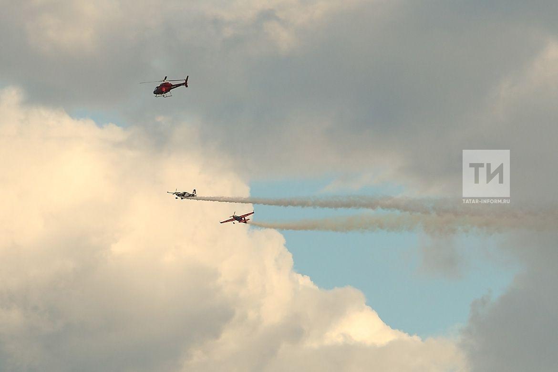 В Казани началась подготовка к чемпионату Мира по авиагонкам Red Bull Air Race
