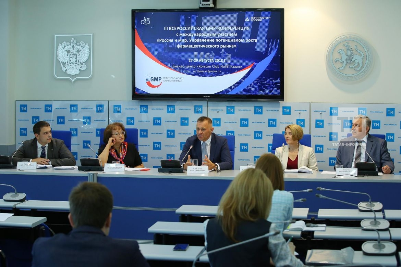 Доля отечественных фармацевтических средств нарынке Татарстана достигла 35%
