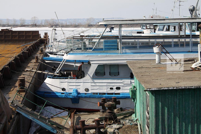 Ход подготовки к речной навигации