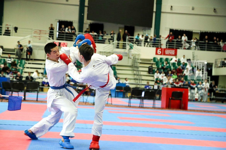 Открытие Всероссийских соревнований по каратэ