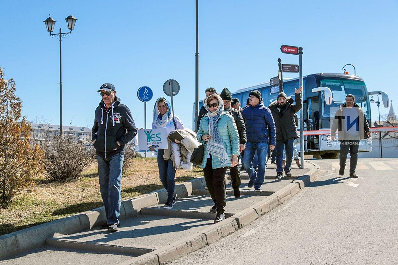 Татарстан посетила первая группа туристов из ОАЭ после отмены виз