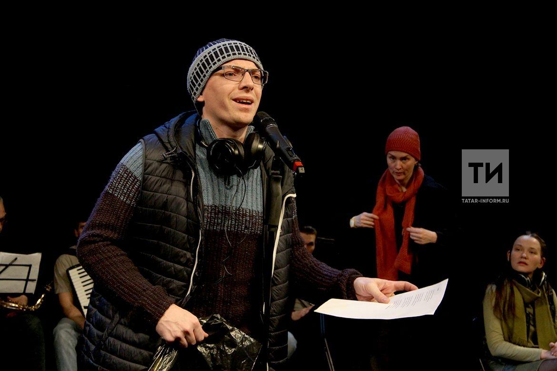 Репетиция спектакля Зимний трамвай