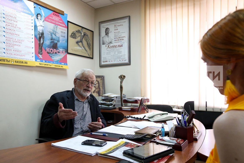 �нтервью с Художественным руководителем балета, о Нуриевском фестивале. Яковлев Владимир Алексеевич
