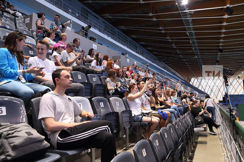 Казанский этап FINA по прыжкам в воду. Соревнования продлятся в Казани до 12 мая.