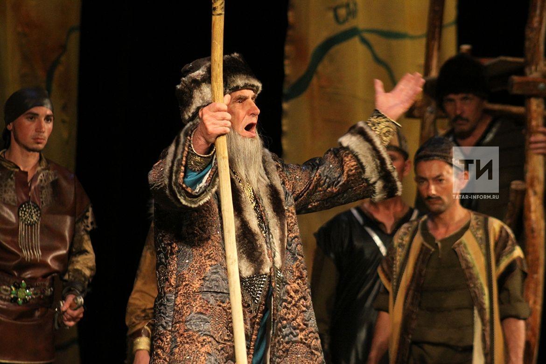 Спектакль Актанышского народного театра