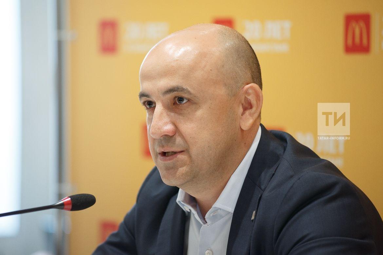 Пресс-конференция Макдоналдс 20 лет в Татарстане