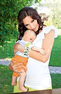 Эвелина Бледанс опубликовала фото сына